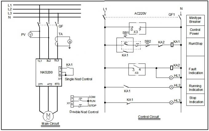 Fan Control Soft Starter For Three Phase Induction Motor