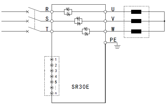 Constant Current Thyristor Power Controller With High Reliability CPU