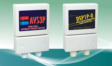 China AVS 3P Automatic Voltage Switcher / 3P DSP Distribution Surge Protection Device factory